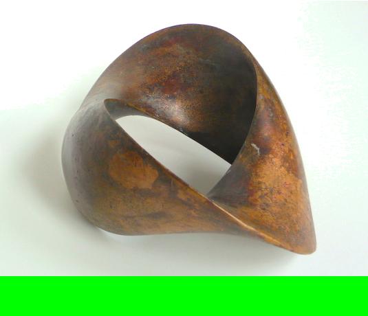 Verbindung • Bronze • 2017 • Preis: 2400,- Euro • <span class='ak'>Ankaufanfrage</span>
